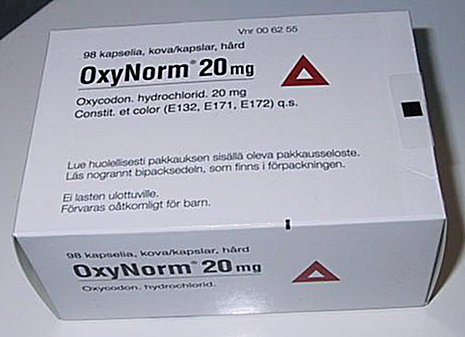 oxynorm 20 mg concentrate